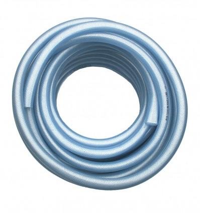 Tuyau souple polyvalent PVC Ø20 - Qualité Alimentaire - Renforçé d'une tresse en textile haute tenacité - FILCLAIR AL