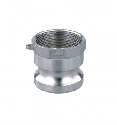 Raccord à Cames Inox 316 type A adaptateur femelle