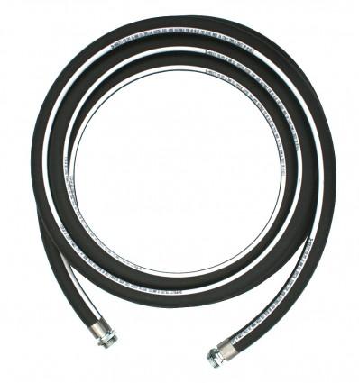 "Flexible carburant tuyau Ø20 lg 6 m connexion 3/4"""