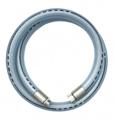 "Flexible PVC souple polyvalent DN40 M/F 1"" 1/2 inox 316"