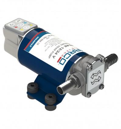 Pompe à huile réversible avec régulation du débit 12/24V