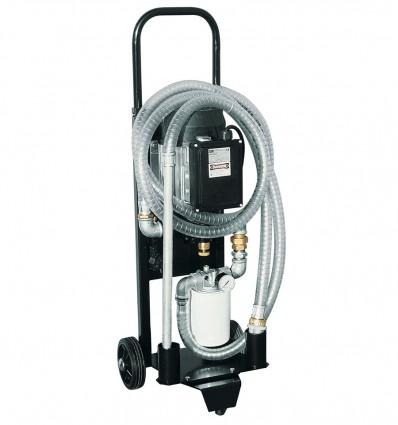 Groupe mobile de filtration et transvasement dépollution huile hydraulique, huile moteur - DEPUROIL POMPES H2O