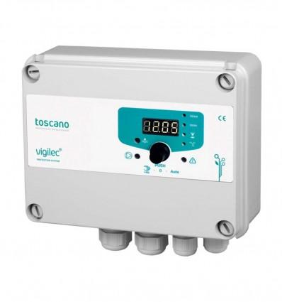 Coffret de gestion manque d'eau Vigilec MONO V1M avec condensateur