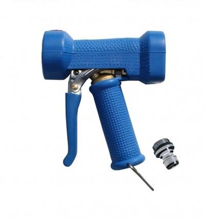 Pistolet de lavage avec protection EPDM, mécanisme en Laiton, Température maxi 95 °C