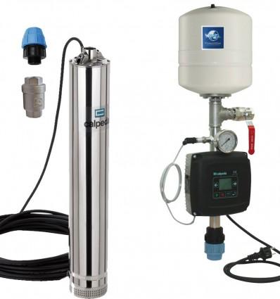 """Kit pompe immergée inox 5"""" avec variateur vitesse - MXS (0 à 4 m3/h)"""