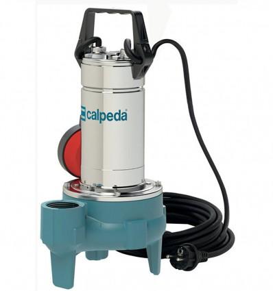 Pompe de relevage à roue vortex pour eaux usées, eaux chargées, eaux pluviales, CALPEDA GQS 50-11