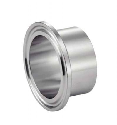 Ferrule clamp sms courte à souder inox 316l