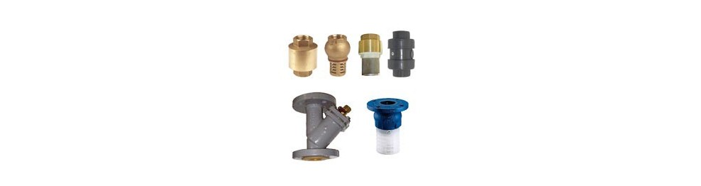 Check valve - Stainer filter