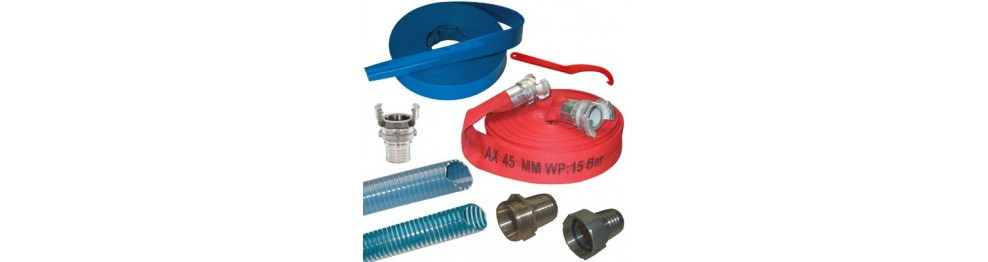 Worksite pump accessories