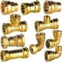 DECA brass coupling pipe
