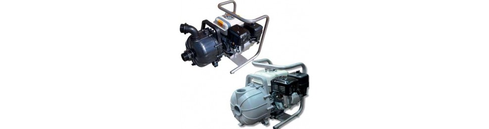 Engine driven pump for chimical liquid/sea water